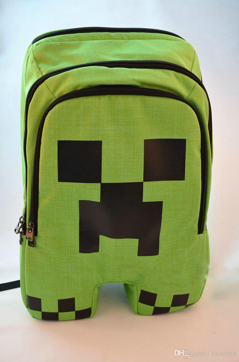 Minecraft Game My World Children Backpacks Kids For Boys Gril ...