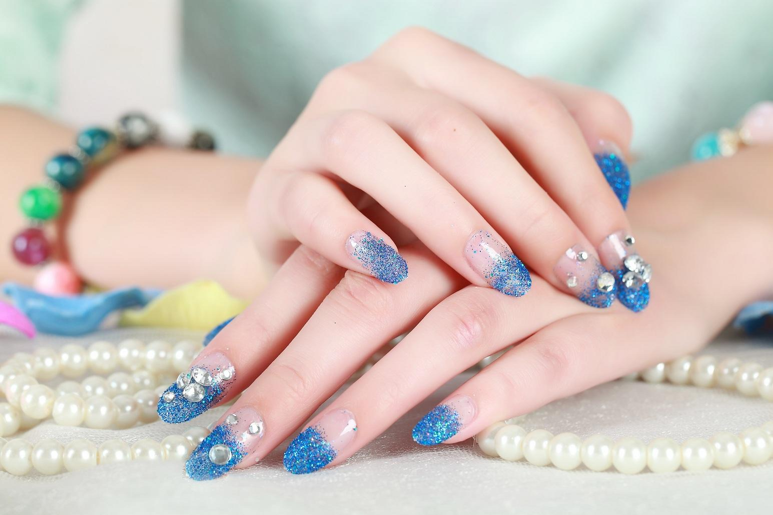 2015 hot sales nail tips art design tips french acrylic uv for Ongles salon