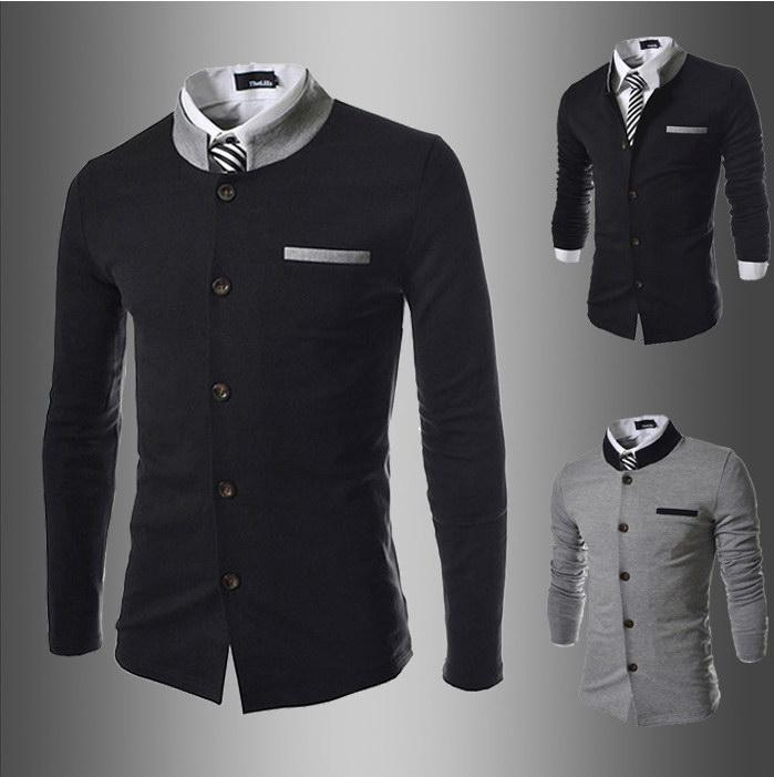 2017 Men'S Suits Mens Blazers Jacket Casual Fashion Men ...