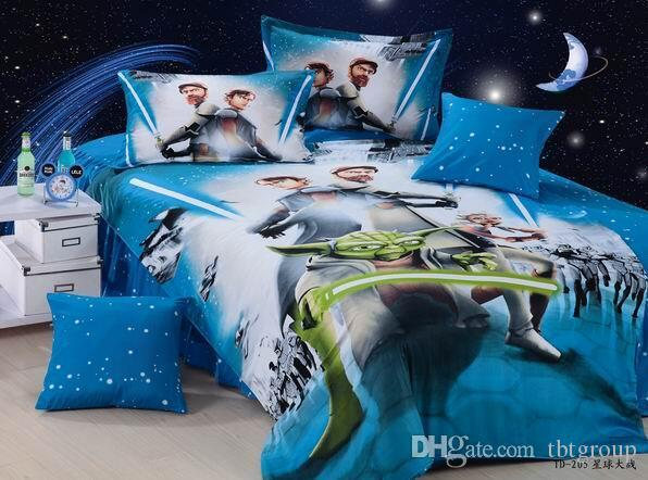 Star Wars Bedding Set Kids Bed Set Duvet Cover Bed Sheet Pillow ...