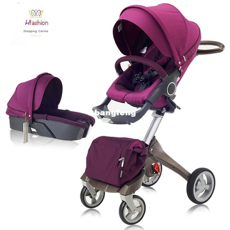 Online Cheap Summer Luxury Baby Stroller Car Seat Bassinet ...