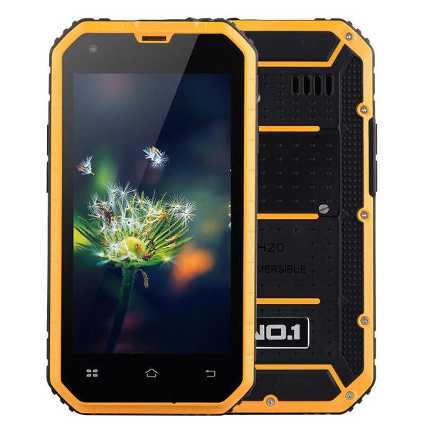 Original NO.1 M2 robuste étanche IP68 Smartphone MTK6582 Quad Core 4.5