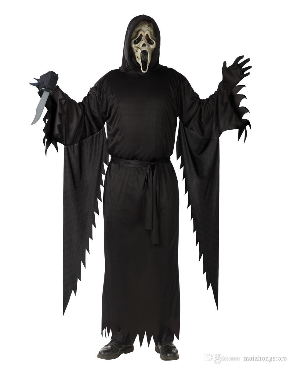 Halloween Mask, Dance Props, The Devil Terrorist Mask Single Face ...