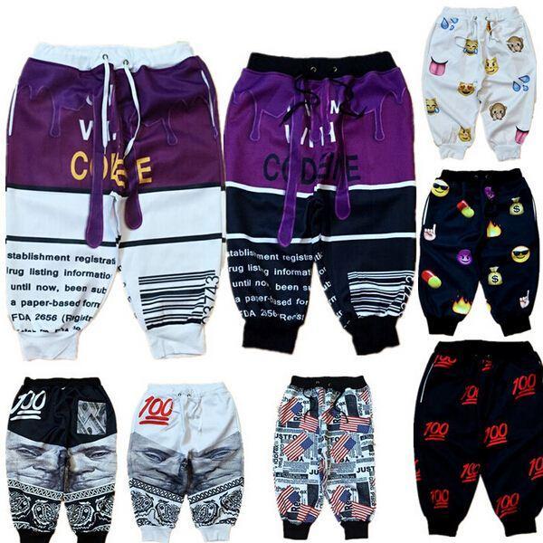 Online Cheap Jogger Shorts Men 3d Print Running Hip Hop Shorts ...