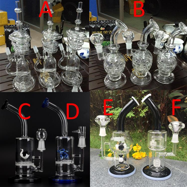 2017 New Arrival Different Types Of Bongs Glass Water Pipe