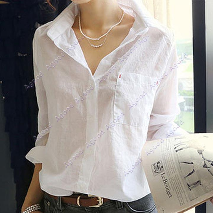 Online Cheap 2015 New Arrival !!! Women'S Sexy Turn Down Collar ...