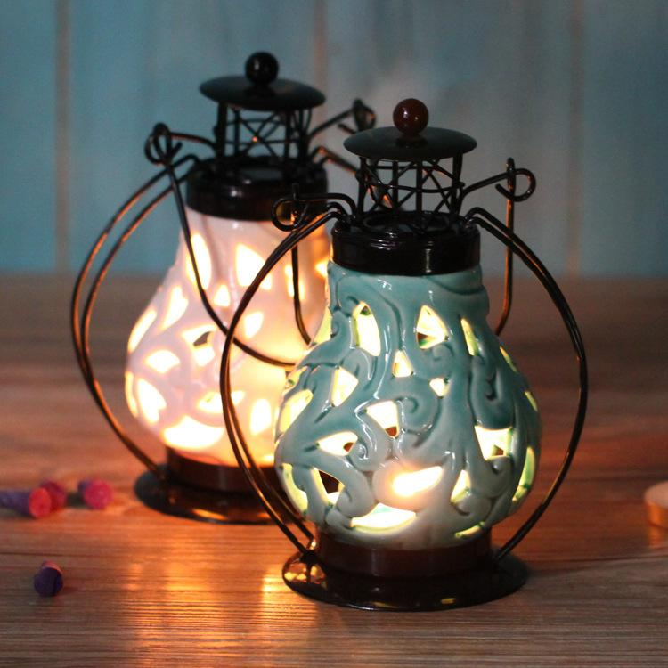 Boda de cena con velas de Cerámica candelabros 1PC Romántico ...