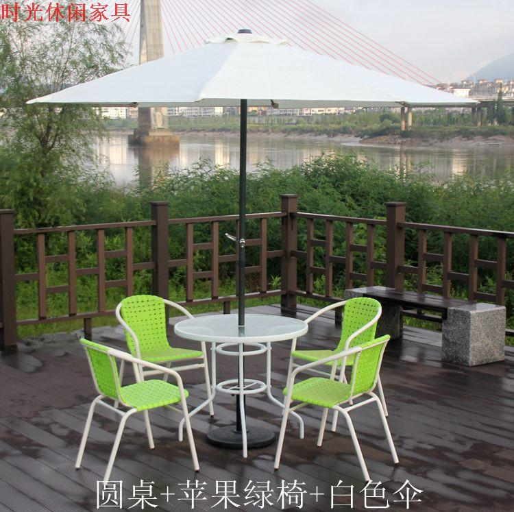 2017 wrought iron plastic leisure chairs outdoor garden