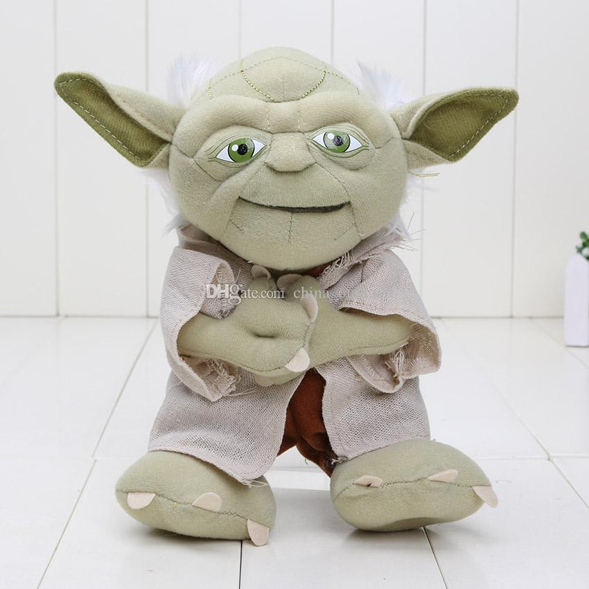 Star Wars Characters Toys : Cm star wars character plush toy yoda soft stuffed