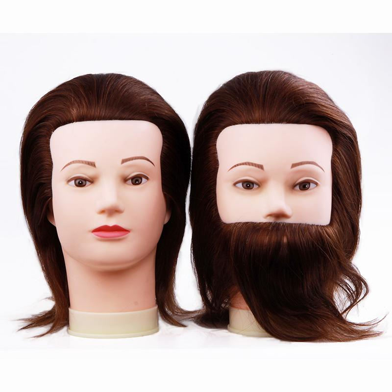 Groovy Male Mannequin Heads With Hair Man Gent Training Head Cosmetology Short Hairstyles For Black Women Fulllsitofus
