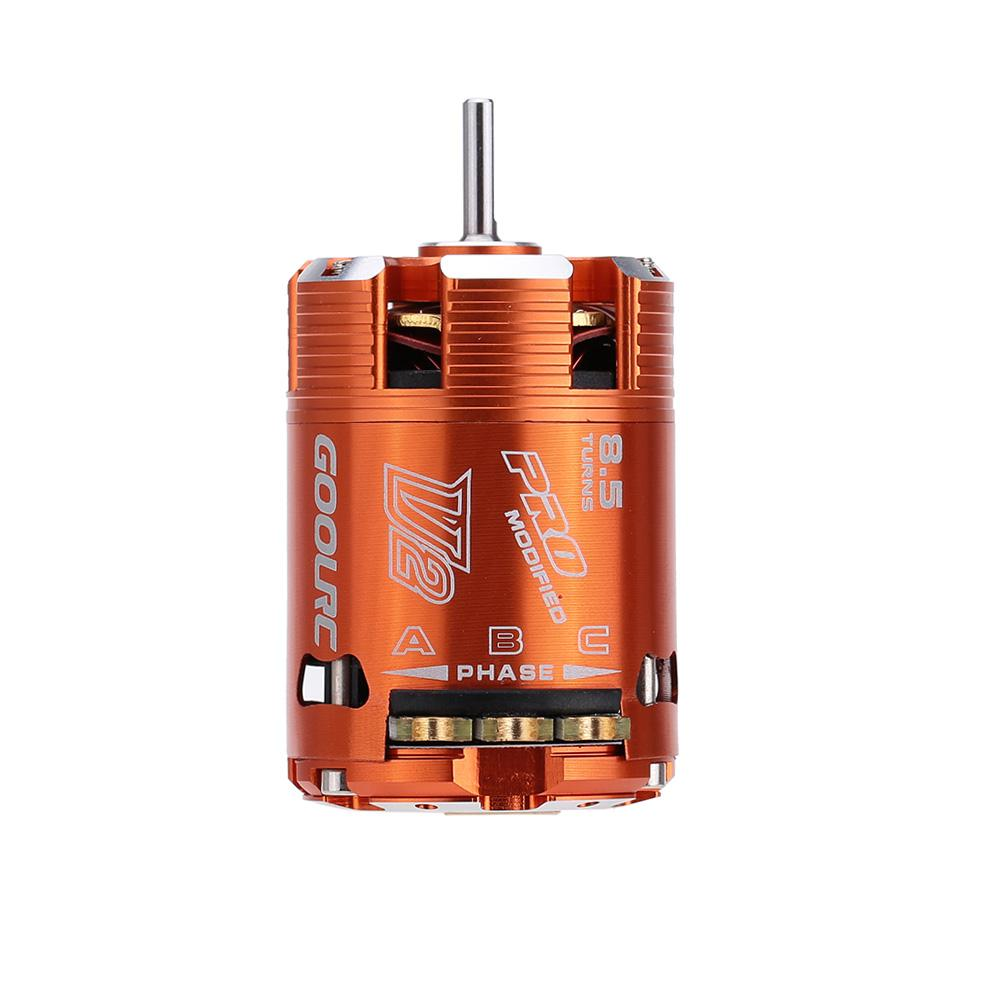 2017 brand goolrc 540 sensored brushless motor for rc for 10 5 t brushless motor