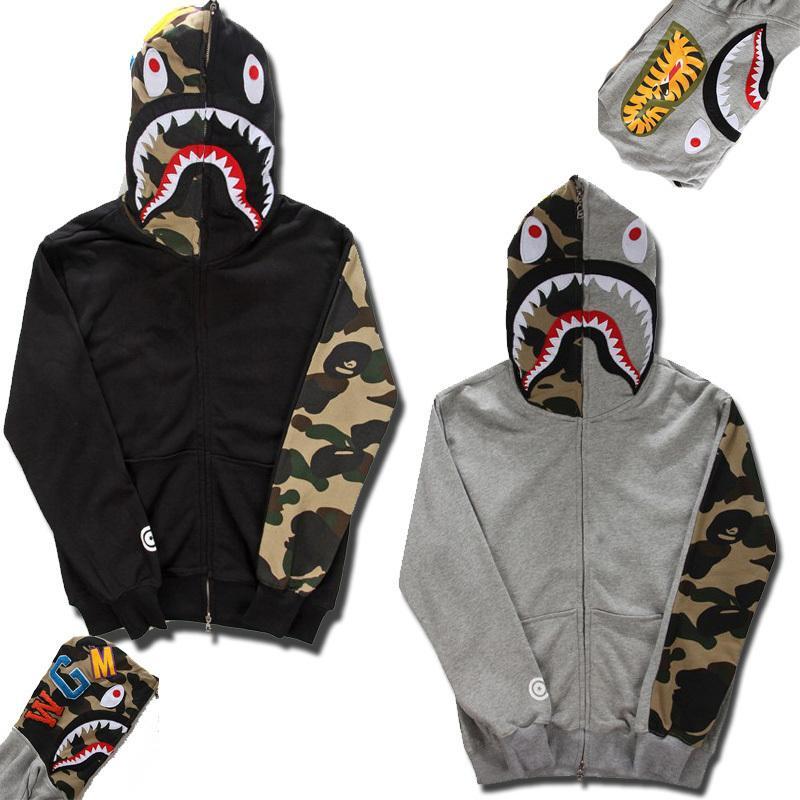Online Cheap Fashion Brand Mens Clothing Bape Shark