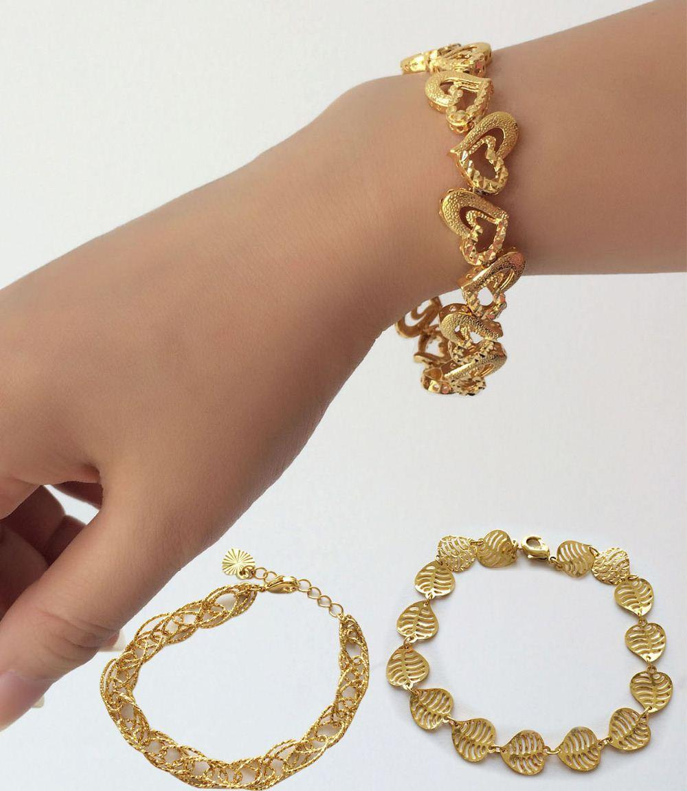 friendship design csvimages new plated yellow bracelets gold bracelet