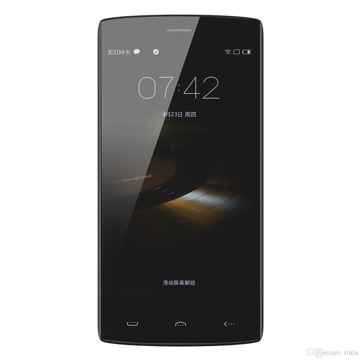 "Original HOMTOM 5.5"" HT7 MTK6580A 1.3GHz Quad Core1280x720 HD Screen Android 5.1 1G RAM 8G ROM 8.0MP 3G Smartphone"