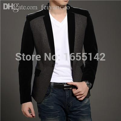 Wholesale-New Blazer Men Latest Coat Designs Suits For Men Wedding ...