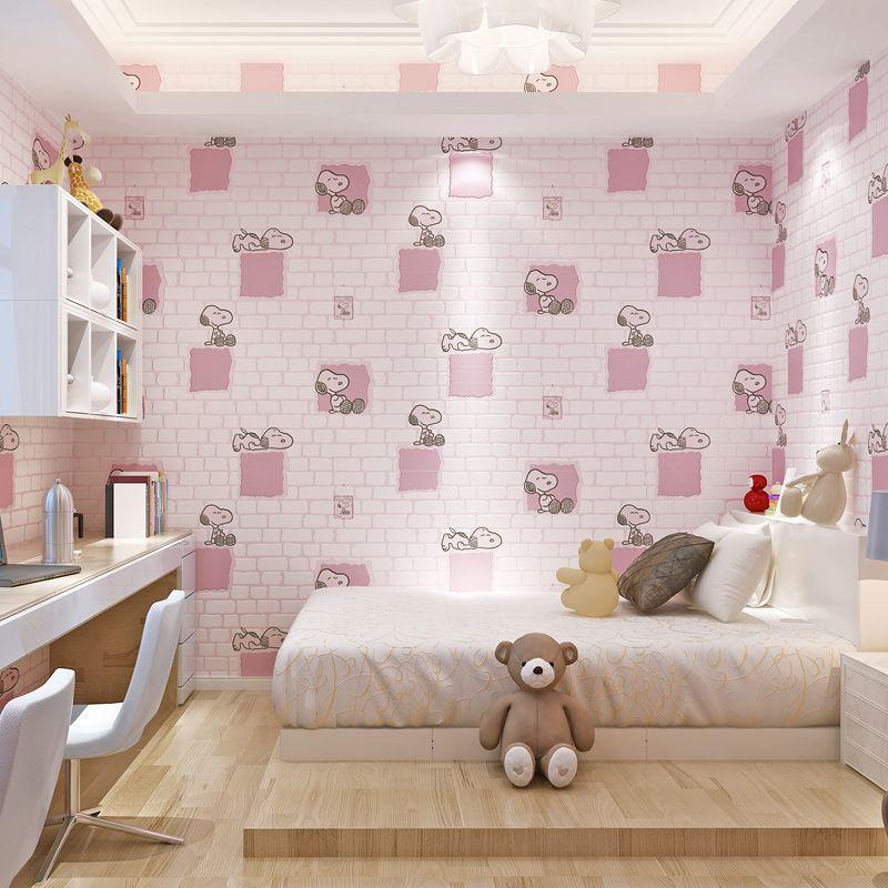 Snoopy Cute Children Boys And Girls Room Brick Foam