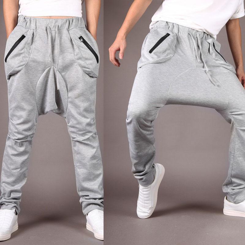 2017 new fashion harem baggy sweat pants athletic sport