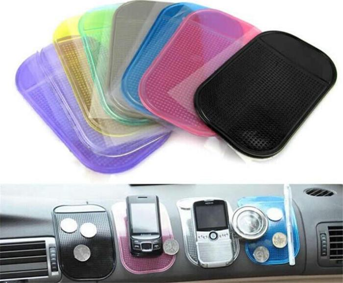 Pad Post Anti Slip Mats Non Slip Car Dashboard Collant Mat Pad sillica Gel Magic