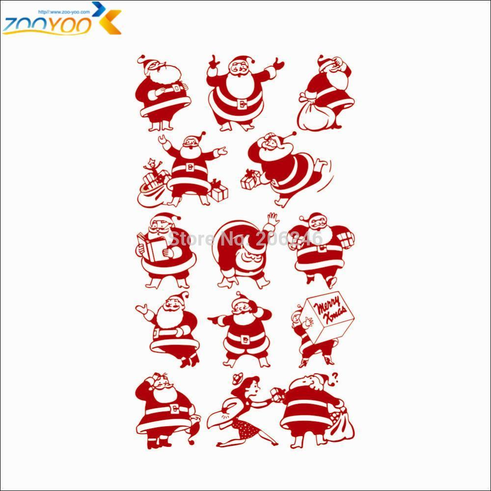 Christmas wall decals roselawnlutheran for Christmas wall mural
