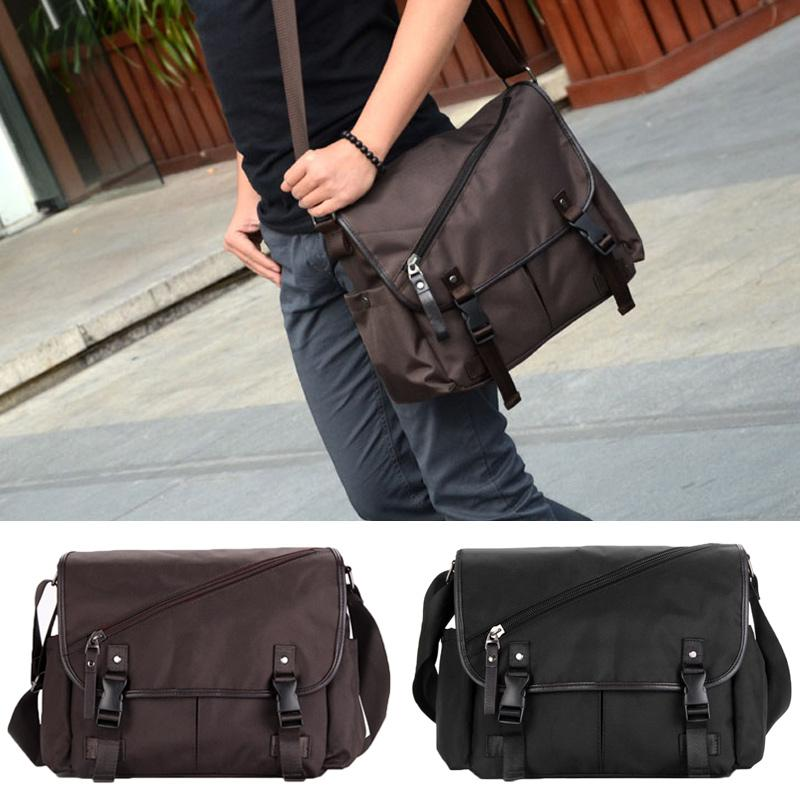 New Fashion Men Shoulder Bag Flap Front Men Bag Multiple Pockets ...
