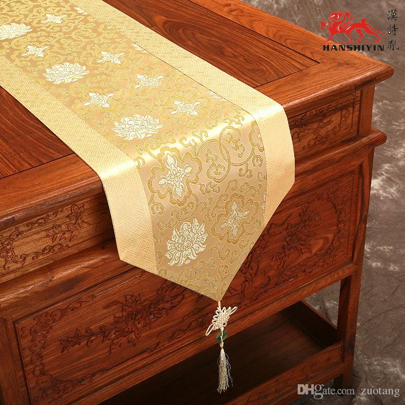 120 inch extra long chinese knot luxury dinner party table for 120 inch table runner