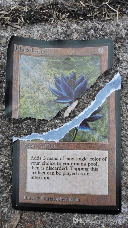 Wholesale 10Pcs/Lot Dual Lands MTG Customized Unofficial Card ...