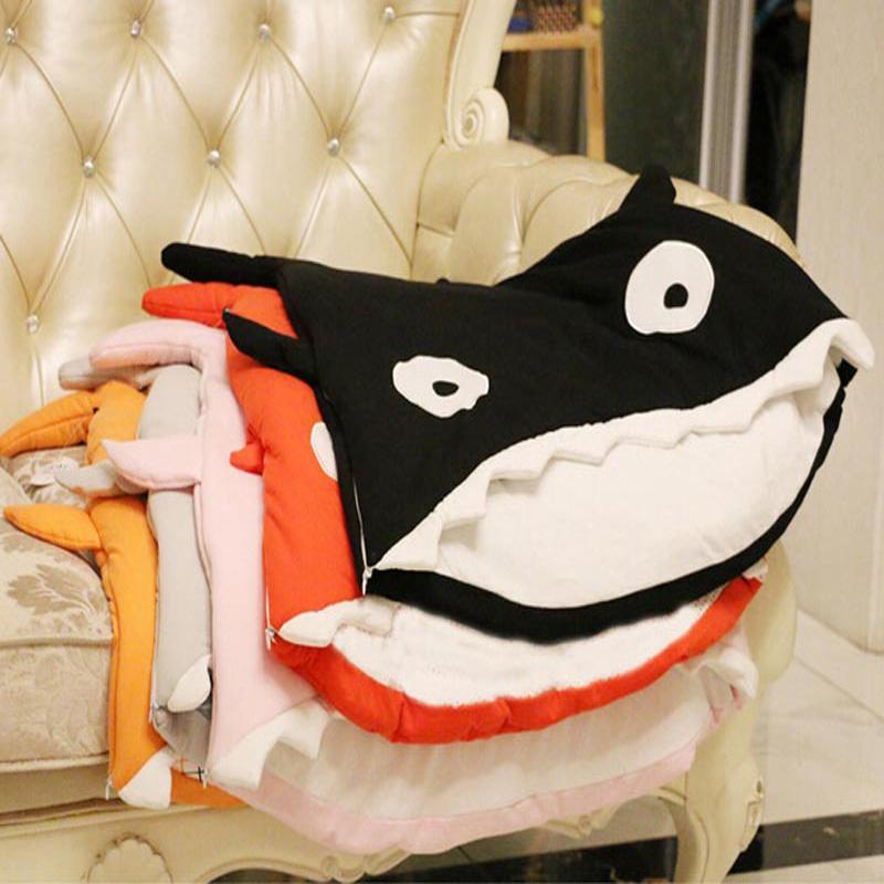 Shark Pillow Sleeping Bag shark snuggly wholesale blanks baby shark sack blanket sleeping