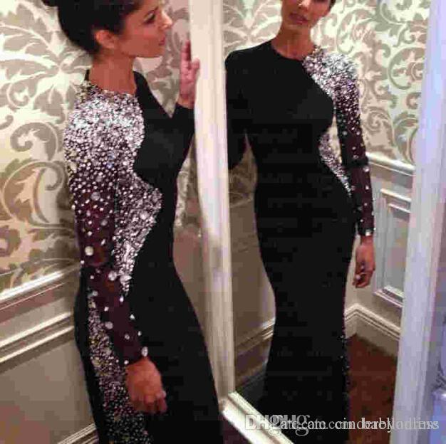Sparkly Bling Prom Dresses With Crystal/Rhinestones 2016 Sexy ...