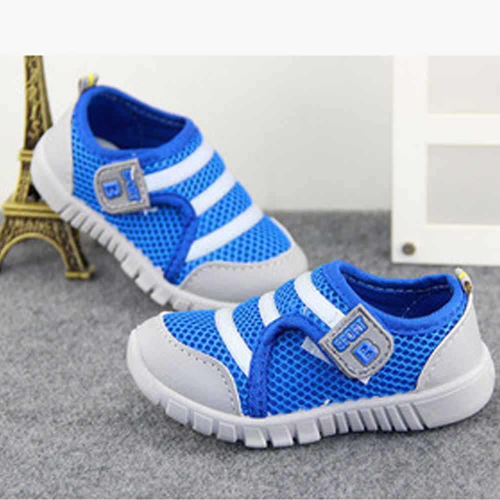 Brand New Boys Girls Kids Shoes Blue Color For Children Summer ...