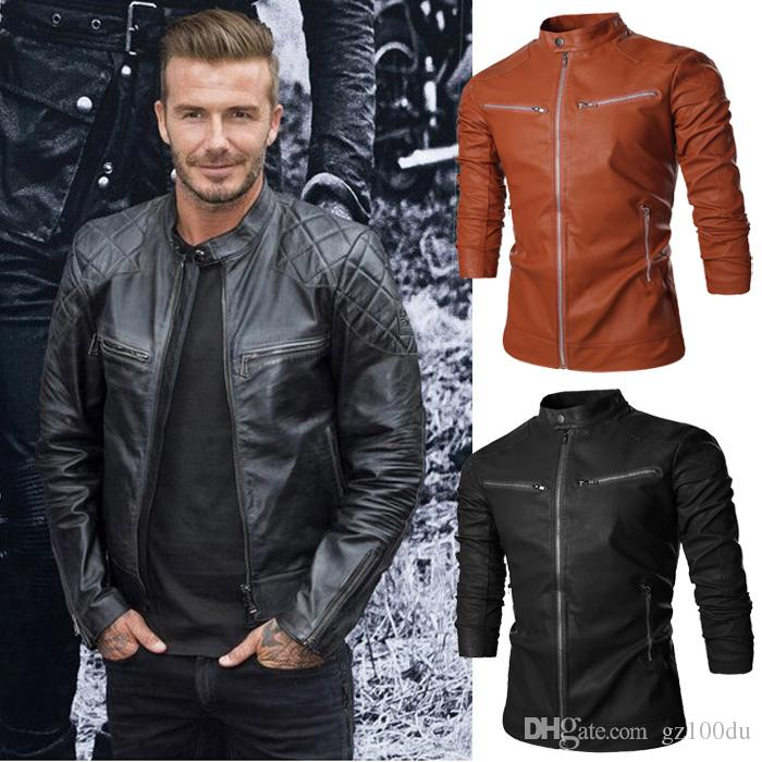 Nice Leather Jackets For Men | Outdoor Jacket