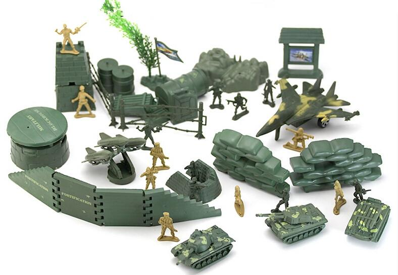 Novelty Action Figure Soldiers Play Set Gulf War