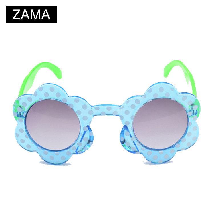 sunglasses for kids  ZAMA Children Sunglasses Girl UV400 Flower Decoration Girls ...