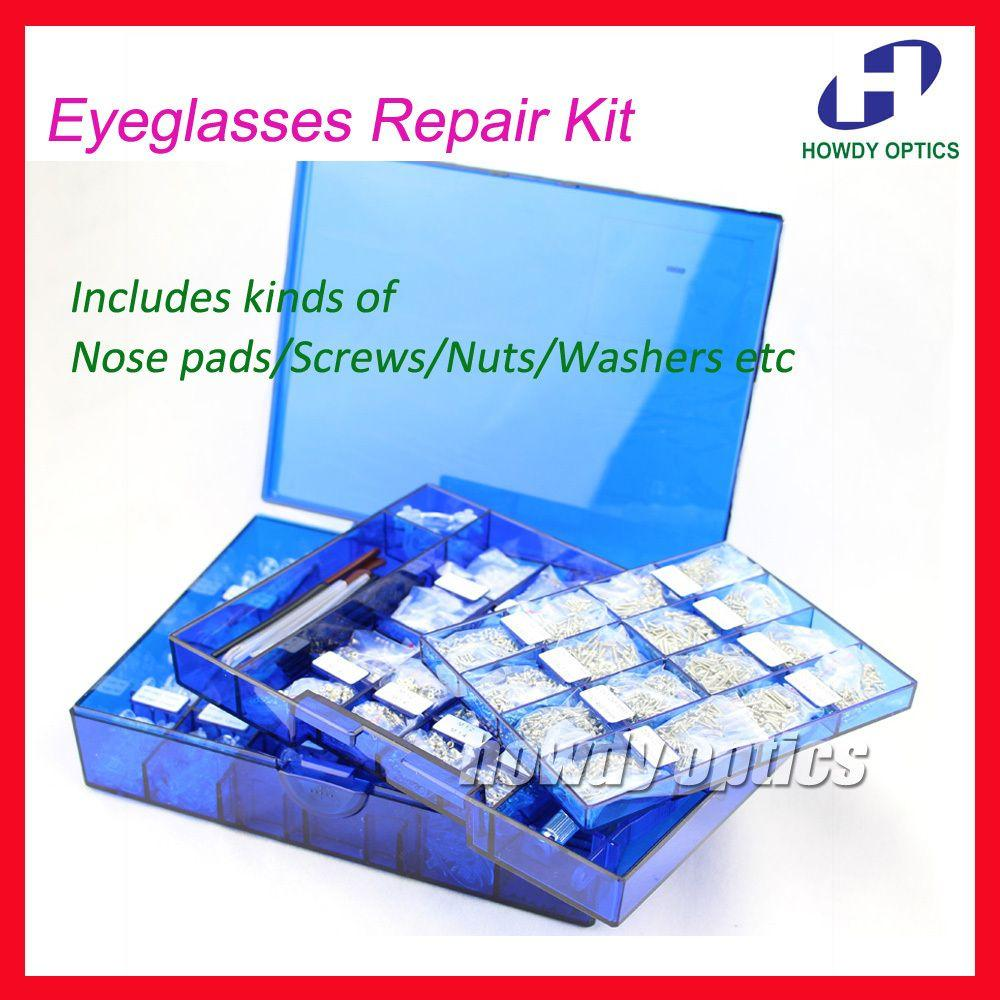 Wholesale New Eyeglasses Repair Kit Glasses Screws Nose ...