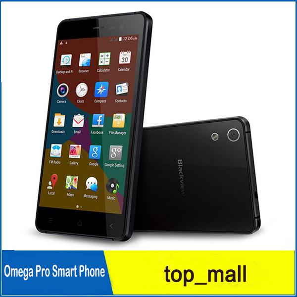 Blackview Omega Pro 4G MTK6753 1.5GHz 2GB 16GB Android 5.1 Lollipop 5.0 pouces G