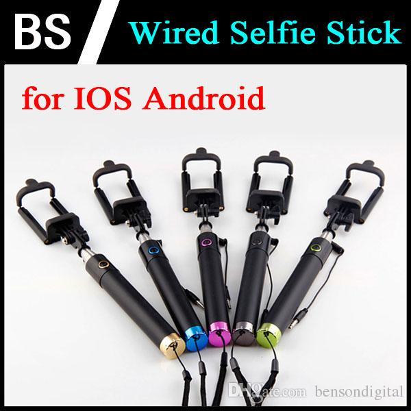 2017 z07 wireless selfie stick monopod for iphone 6 plus 5s universal mini folding self pole. Black Bedroom Furniture Sets. Home Design Ideas