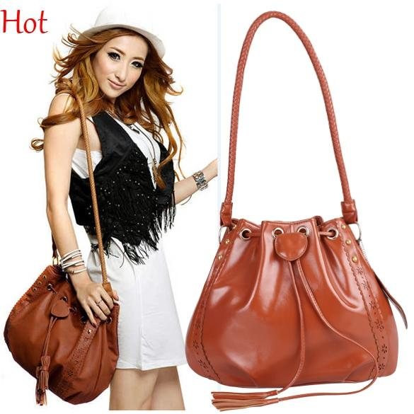 New Korean Womens Shoulder Bags Lady Leather Handbag Fashion ...