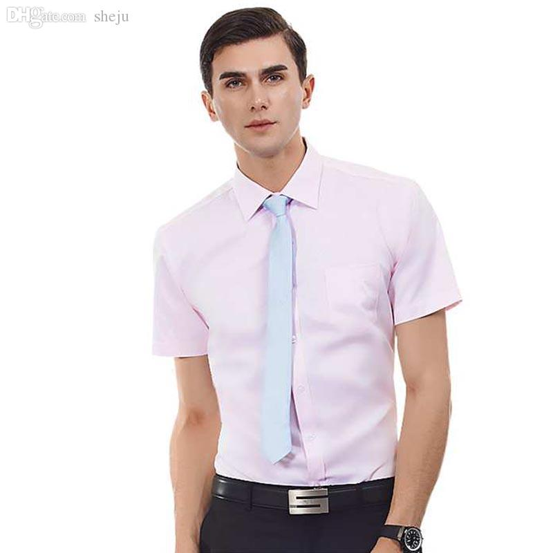 Best wholesale fitted short sleeve dress shirts for men for Fitted short sleeve dress shirts