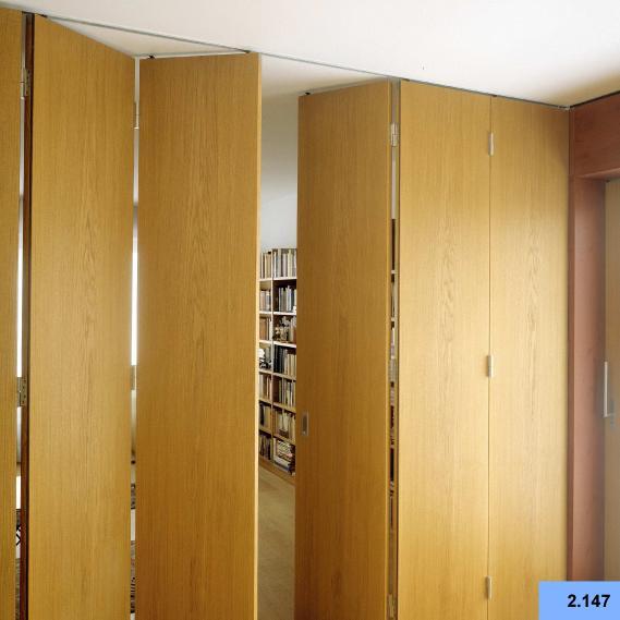 Hanging Sliding Door sliding door hardware parts folding door accessories round wooden