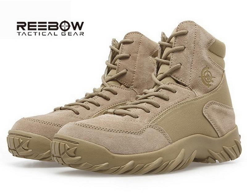 Reebow Us Army Tactical Boots Military Men'S Soldier Desert Combat ...
