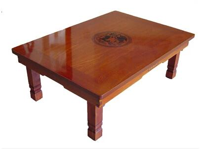 table basse corenne pieds repliables rectangle 80 60cm asie antique style salon meubles basse table - Table Basse Asie