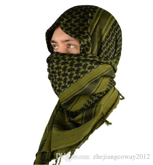 Mato Hash militaire coupe-vent Keffiyeh Echarpe Scarf Echarpe Shemagh Head Warp