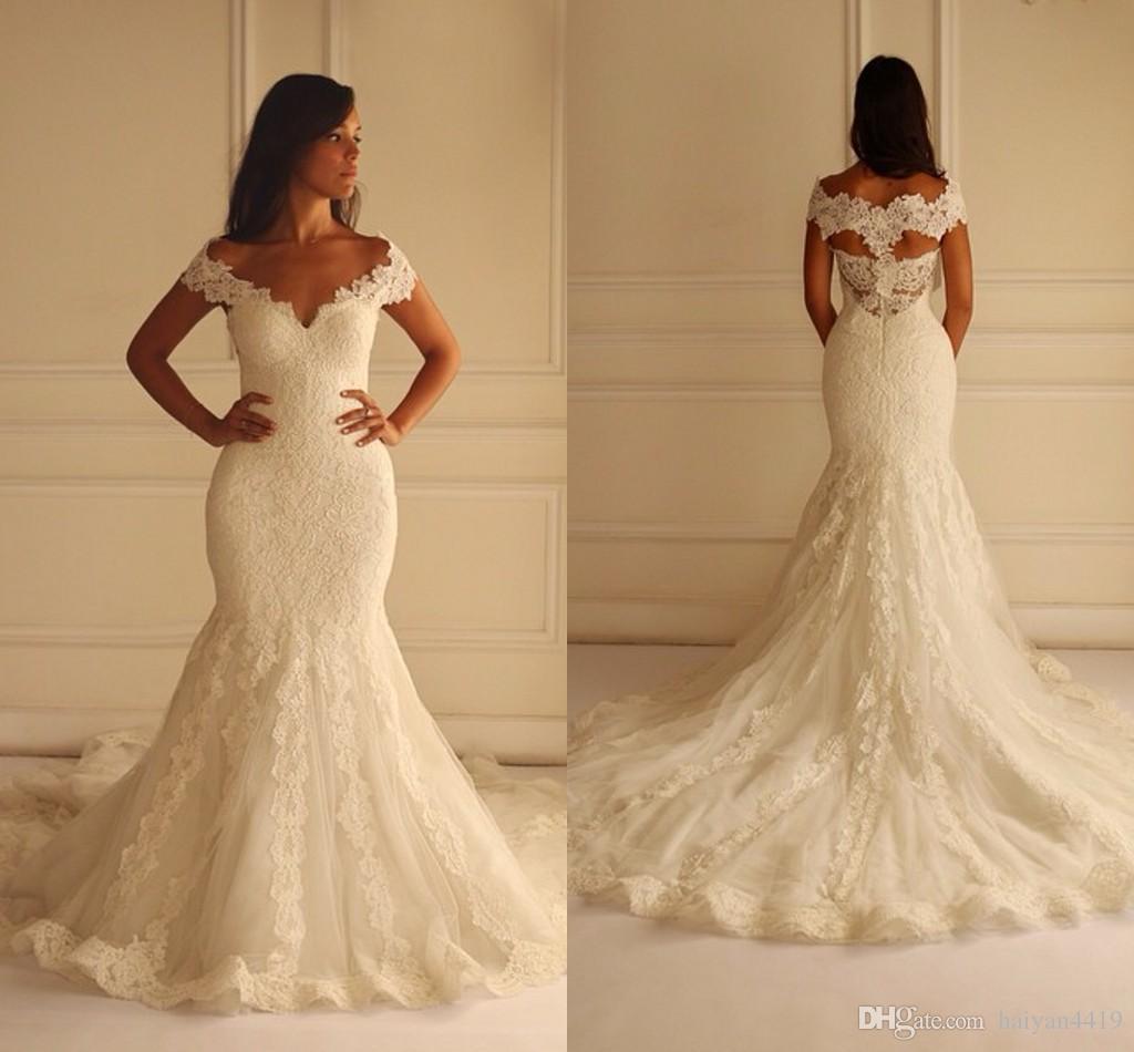 Maison yeya 2016 new mermaid wedding dresses off shoulder for Dhgate wedding dresses 2016