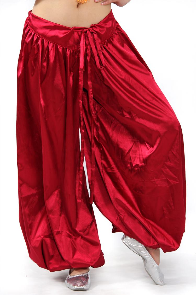 Plus size tribal dance pants