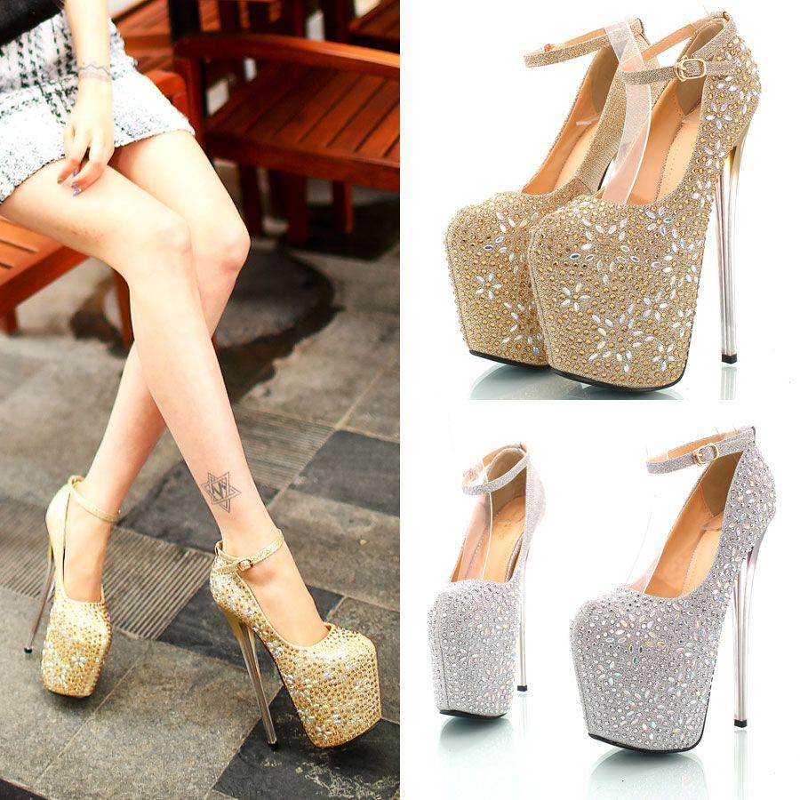 Sexy Sparkly Heels | Tsaa Heel