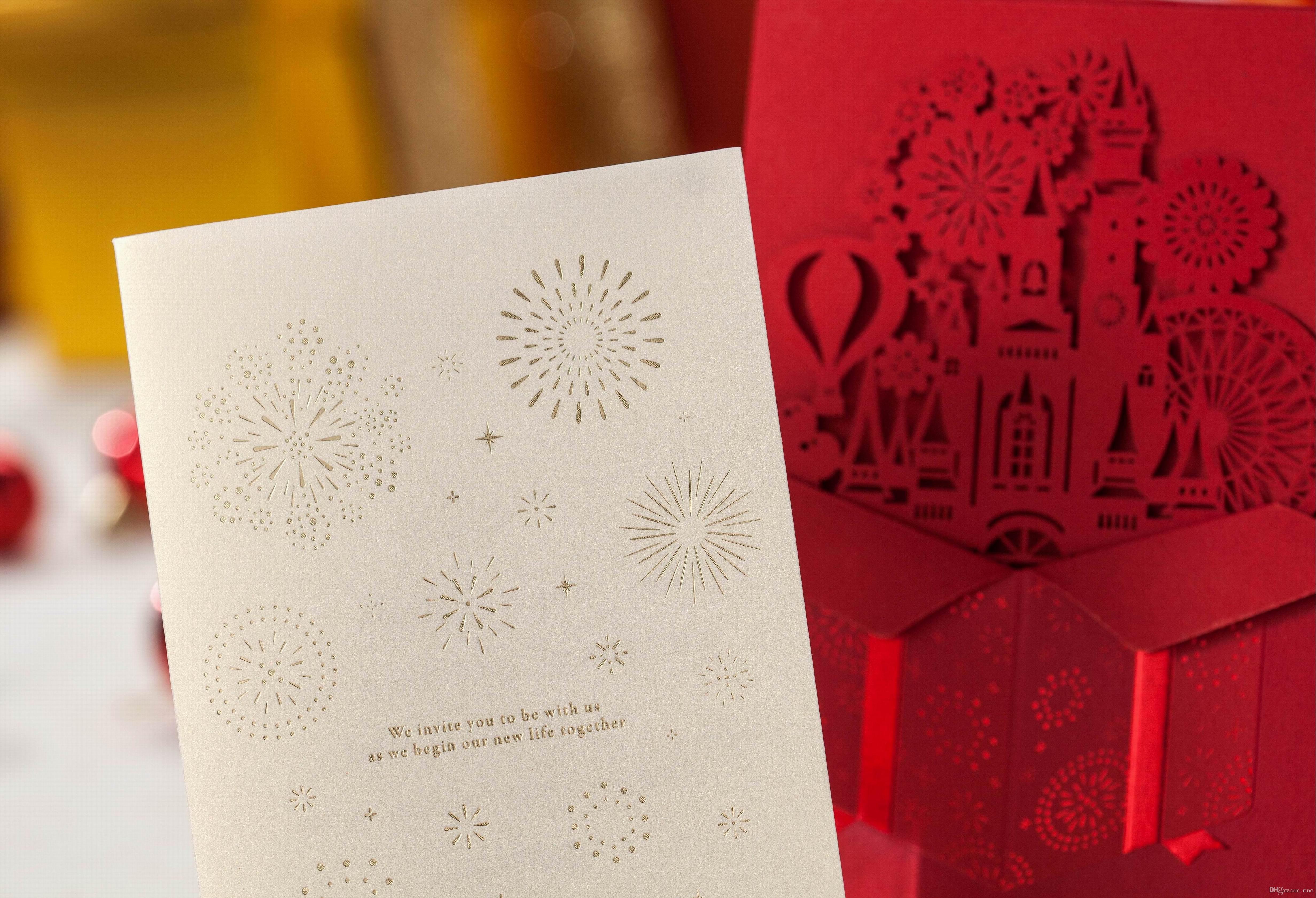 Invito Wedding card