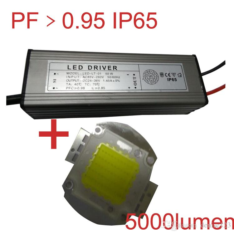 Led Light Fixture Power Factor: Led Flood Lights Ip65 Driver Cob Integrated Led Epistar