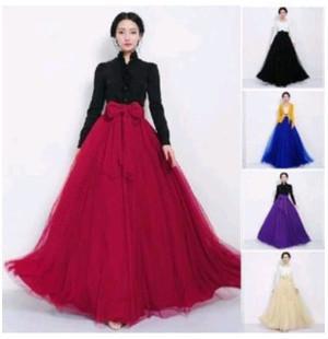 2015 Summer Dress Long Skirt Women TUTU Net Dresse Long Skirt ...