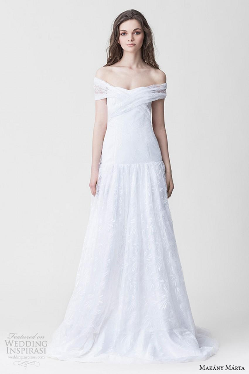 White Wedding Dress Meaning Dream : Dream bridal ready to wear off the shoulder white a line wedding dress
