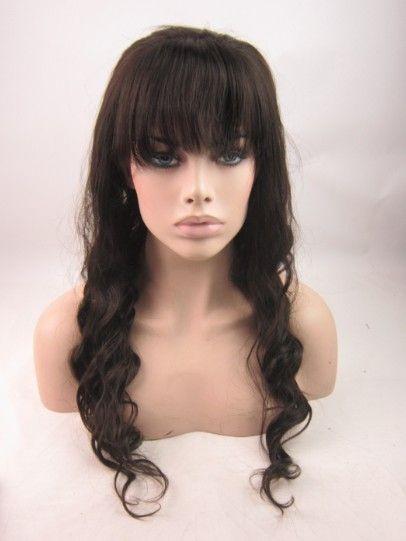 Brazilian Remy Lace Front Wigs Wholesale Wavy Remy Lace Front