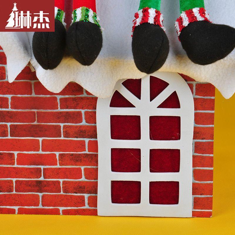 House Snow Scenes Jie Christmas Snow Scenes